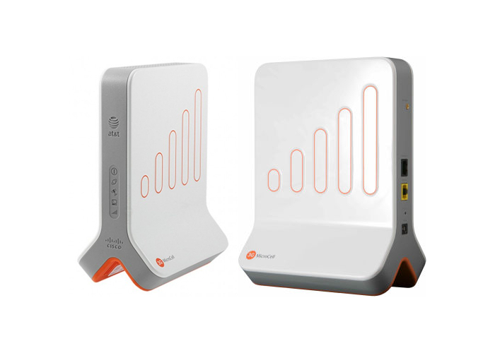 Mobile network booster - AT&T microcell front and back